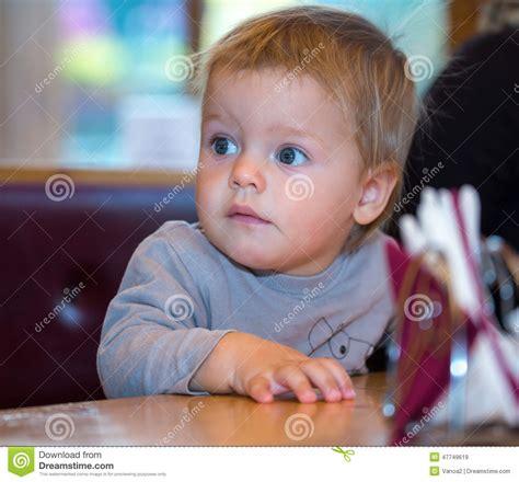 one year old baby boy portrait stock photo thinkstock beautiful blue eyes of one year old boy stock image