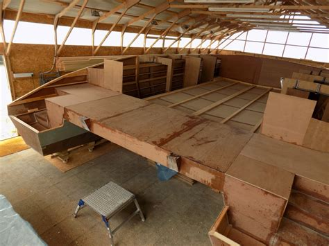 Aft Section by Aft Platform Building A Skoota 36