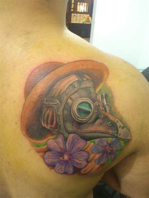 plague doctor tattoo by lueszu on deviantart
