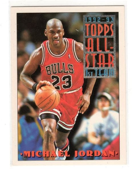michael cards michael card topps 92 93 all