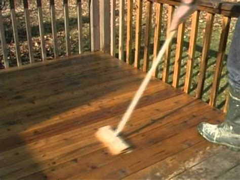 Removing Stain From Wood Deck by Wood Deck Staining How To Remove Failed Stain Youtube