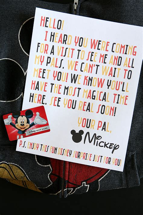 Best Place To Buy Disney Gift Cards - disney magic mickey mail eighteen25