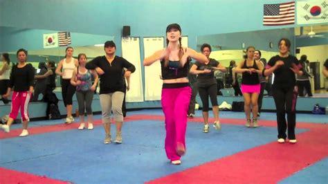 swing dance workout we no speak americano yolanda be cool dcup
