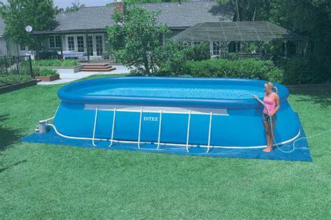 piscine da giardino intex piscine da giardino quali scegliere e come si montano