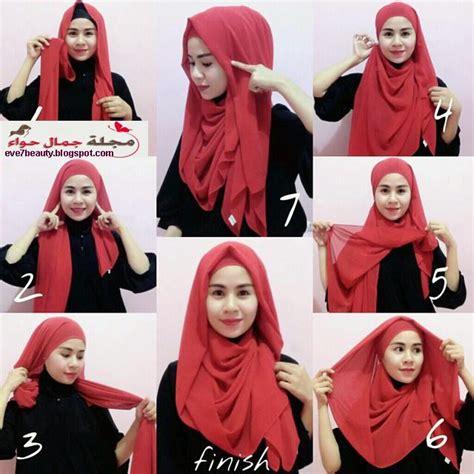 tutorial hijab untuk anak tomboy 10 لفات حجاب جديدة 2015 2016 أنيقة للجامعة والعمل