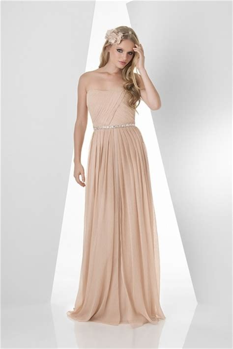 a line strapless chiffon pleated occasion