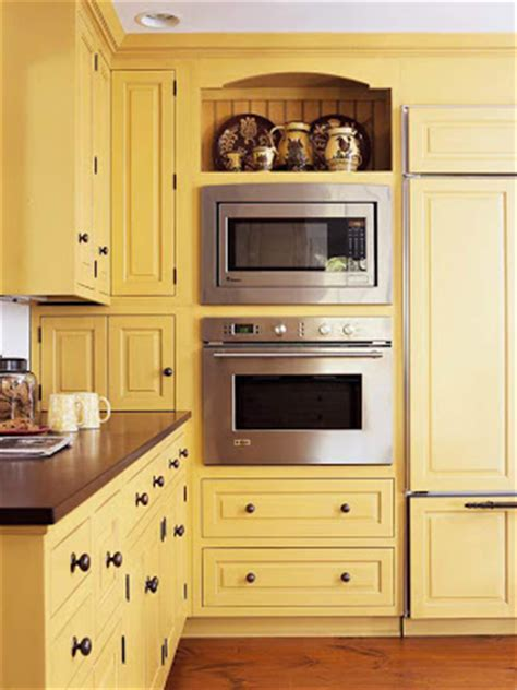 Mission Style Cabinets Kitchen traditional kitchen design ideas 2011 with yellow color