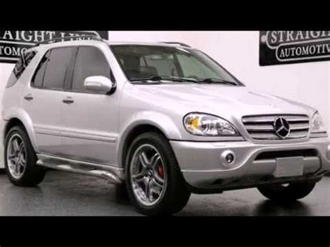 2002 mercedes ml55 amg preowned 2002 mercedes ml55 amg dallas tx