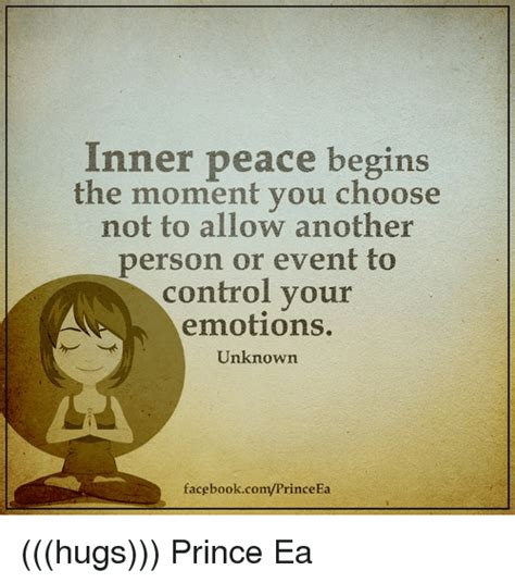 Inner Peace Meme - inner peace begins the moment you choose not to allow