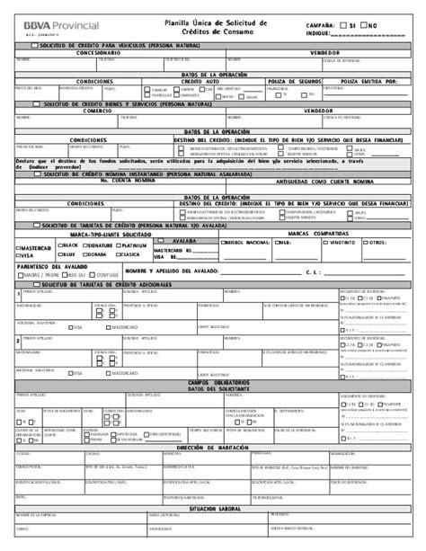 planilla de solicitud credinomina banco bicentenario banco bicentenario planilla de solicitud de tarjeta de