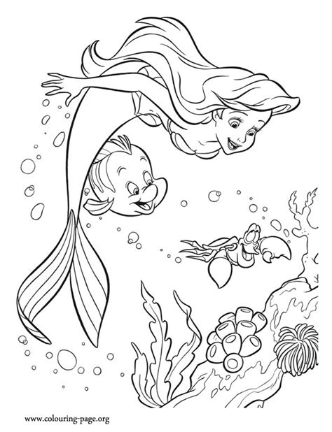 coloring page for little mermaid ariel the little mermaid coloring pages coloring home