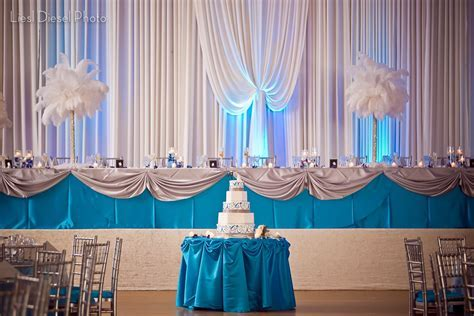 Image result for turquoise silver and white wedding decor
