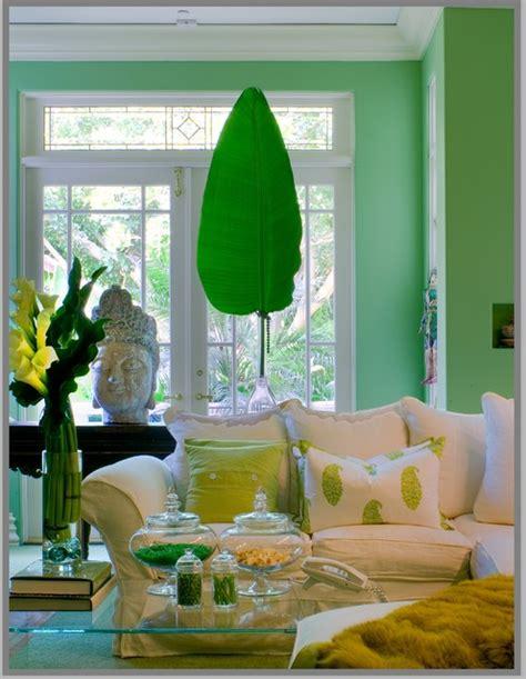 green leaf  chartreuse interiors  color