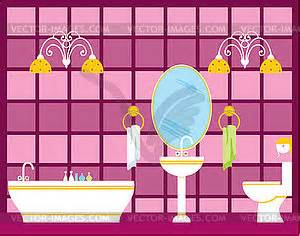 bathroom clipart pictures bathroom royalty free vector clipart