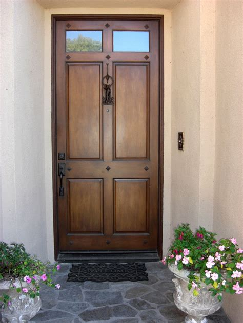 Home Design Ultra Modern Old Wooden Doors With Glass For Front Door Styles