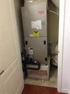Air Handler In Closet by Anaples Air Conditioning Recently Installed New Systems