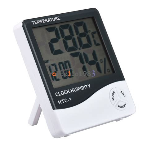 Weather Station Humidity Temperature Alarm Desk Clock Jam Alarm thermometer hygrometer weather station temperature humidity desk alarm clock ebay