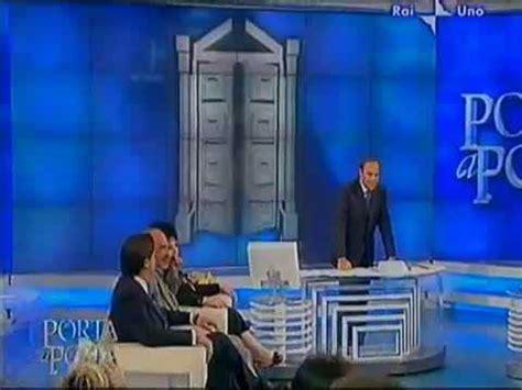 raiuno porta a porta il dott mariani presenta il suo programma 4d a porta a