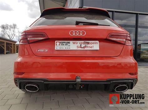 Kupplung Audi by Anh 228 Ngerkupplung F 252 R Audi Rs 3 Und Audi Rs 3 Sportbag