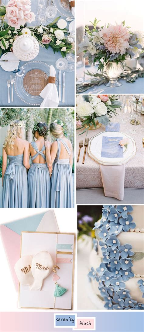 blue wedding colors top 5 shades of blue wedding color ideas for 2017