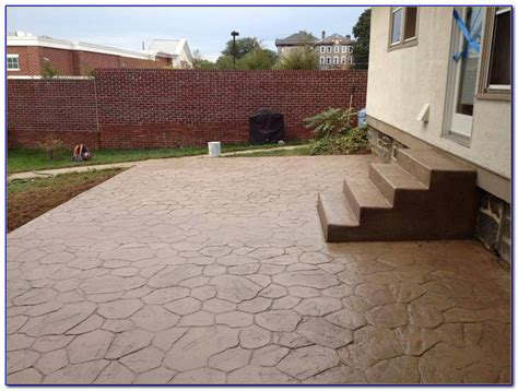 Excellent Stamped Concrete Patio Design Ideas   Patio