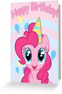 quot pinkie pie birthday card postcard my pony quot greeting cards postcards by falakthewolf