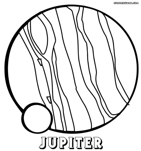 planet jupiter coloring pages www imgkid com the image