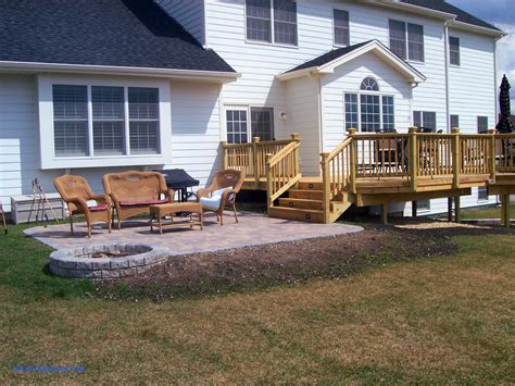 Porch And Patio by Patio And Deck Design Ideas For Backyard Interior