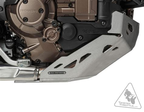Skid Plate Motor Honda Crf 150l sw motech aluminum engine guard skid plate for honda africa crf1000l 16 17
