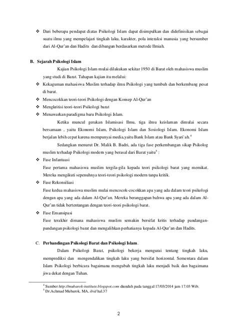 Psikologi Umum 2 By Pustaka Baru psikologi umum dan perkembangan rekonstruksi islami