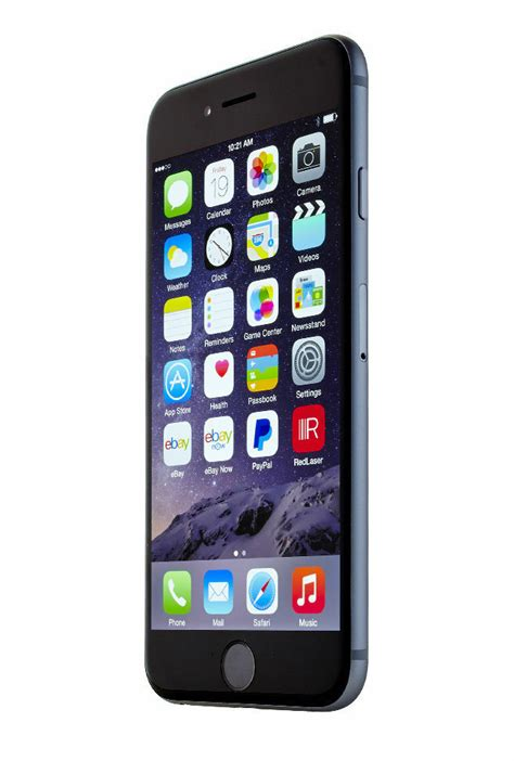 Iphone At T by New Apple Iphone 6 16gb Gray Factory Unlocked At T T Mobile Talk 885909950294 Ebay