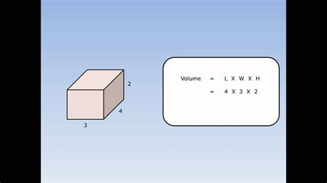 Find Out Where Work Volume Of A Cuboid