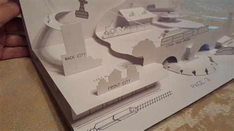 how to make a pop up book with pictures trains for a pop up book rob design