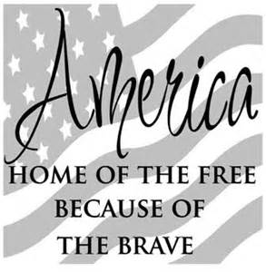 home of the free because of the brave shirt america home of the free because of the brave decal vinyl