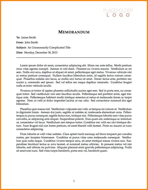 business memo letterhead business memorandum exle business memo png letterhead