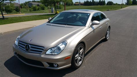 mercedes cls 55 amg price 2006 cls55 amg 30k desert silver chagne