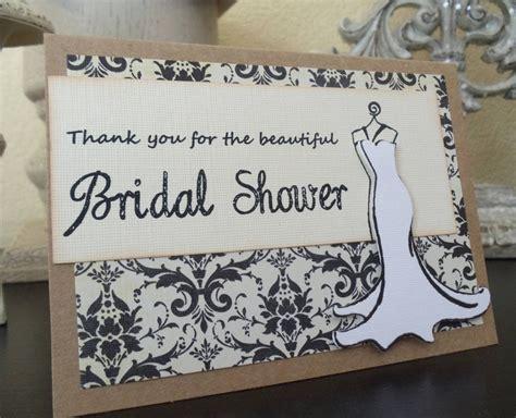 bridal shower ideas using cricut bridal shower thank you 6 cards wedding damask by mdcardsandgifts via etsy cricut ideas
