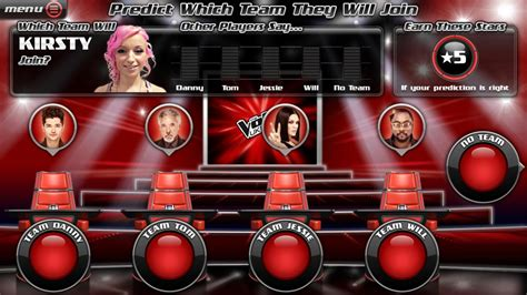 the voice app android creates live prediction companion app for the voice eurodroid
