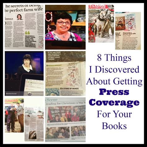 8 Things About by 8 Things I Ve Learnt About Getting Press Coverage For