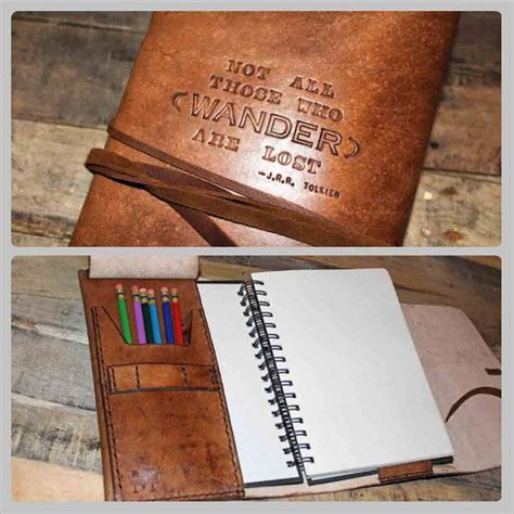 sketchbook refill not all those who wander are lost sketch book refillable