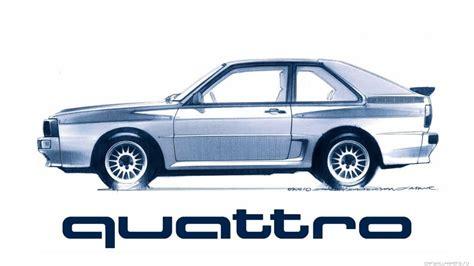 Audi Quattro Drive by The Audi Quattro The Legendary Four Wheel Drive Drivetrain