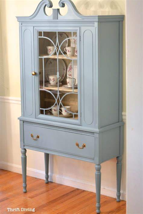 china cabinet makeover ideas side table repurposed sewing cabinet my repurposed