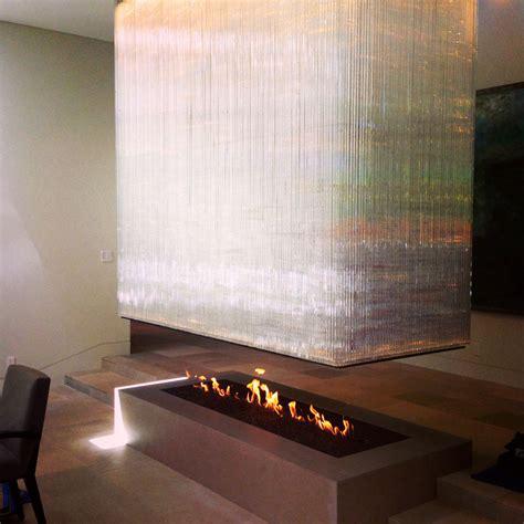 4 sided custom built fireplace energy house