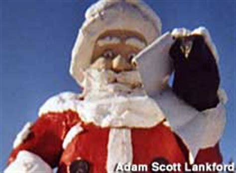 quirky attraction world s largest santa claus statue alaska tourist attractions