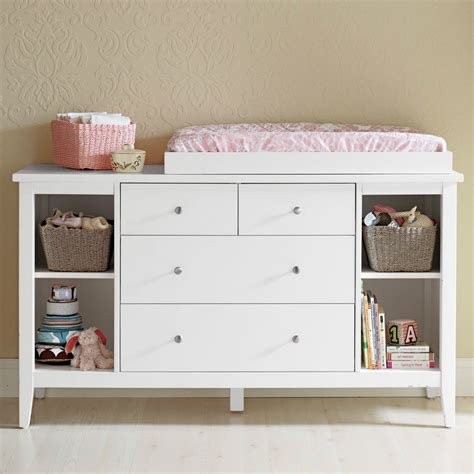 Drawers With Change Table Brand New Baby Change Table Changer 4 Chest Of Drawers Free Change Pad Ebay