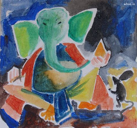 best painting lord ganesha best painting wallpaper