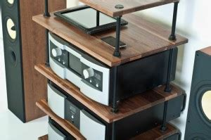 Cushy Speaker Console by Hi Fi Salamander Designs