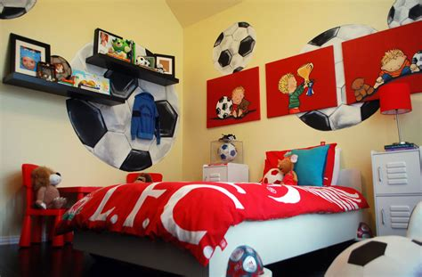 Soccer Room Decor 47 Really Sports Themed Bedroom Ideas Home Remodeling Contractors Sebring Services