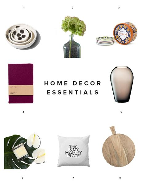 Essential Home Decor | home decor essentials home d 233 cor essentials