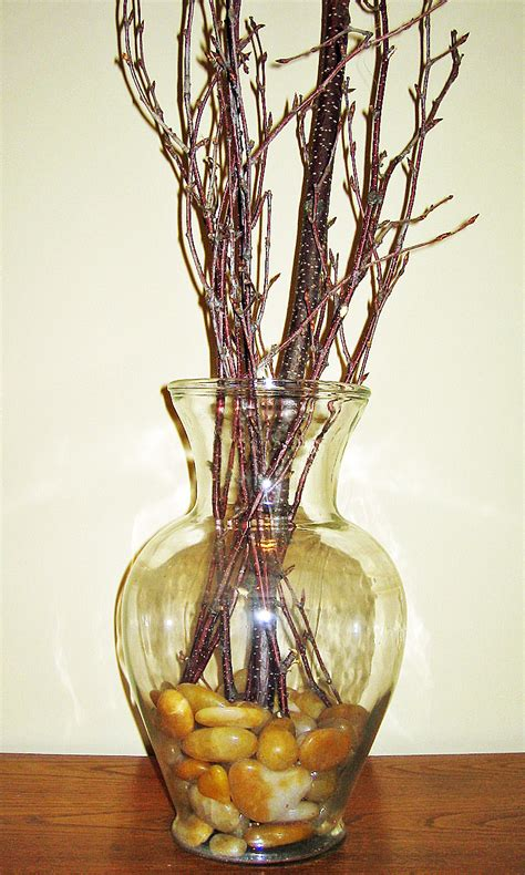 Decorative Twigs For Vases by Recycled Glass Vases For Home Decor Rustic Crafts Chic